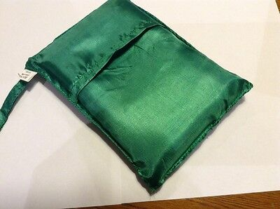 Single Sleeping Bag Liner (Green) Vietnamese Silk - Au Stock - New