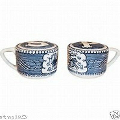 Currier and Ives Salt and Pepper Set