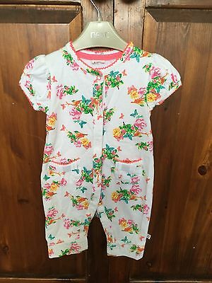 Ted Baker baby girls floral romper/ playsuit 0-3 months
