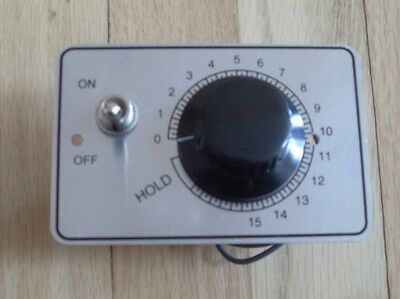 New Mixer On Off Timer Switch & plate for Hobart A200 20qt and A120 12qt Mixers