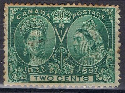 Canada 1897 Queen Victoria Jubilee 2 cent SG 124 Used