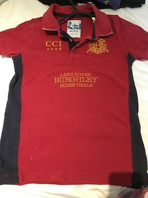 Landrover Burghley Horse Trials Tshirt 11-12