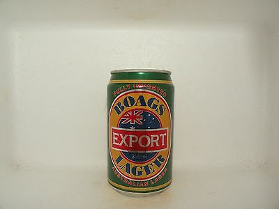 BOAGS EXPORT LAGER 330ml EMPTY BEER CAN