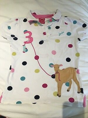 Joules Tshirt Age 7