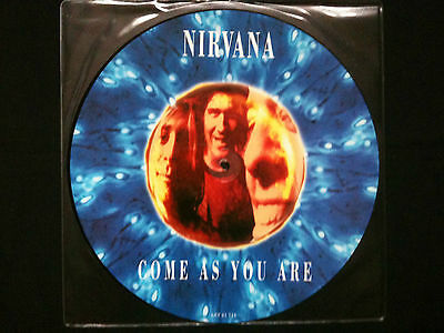 "Nirvana - Come As You Are 12"" Germany 1992 NM    Grunge"