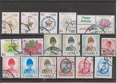 timbres thailand lot