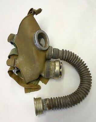 Russian Gas Mask - Steampunk War Child Creepy Face Gasmask Display Macabre Cool