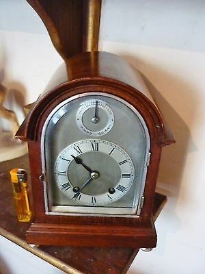 Rare English Coventry astral small bracket mantle clock VGC C H Williamson ltd