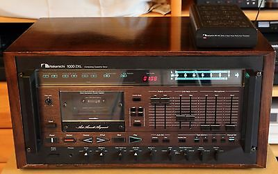 Nakamichi 1000 ZXL + NR100  BOTH fully restored, mint condition !