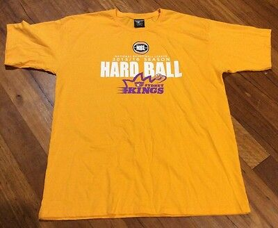 New Without Tags Sydney Kings Basketball Hard Ball NBL T Shirt Size XXL