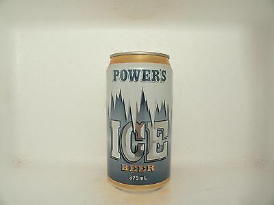 Powers Ice Empty Beer Can
