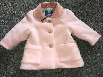 TROTTERS girls 0-12 Months Coat Winter Warm Stunning