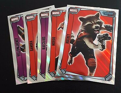 TOPPS Marvel missions Lot of 40 inc 5 foils and 5 holo foils (no dupes)