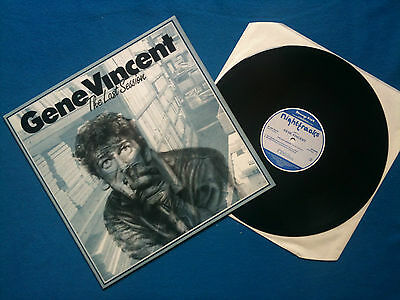 Gene Vincent - The Last Session LP UK 1987 EX/EX+    Rock N Roll