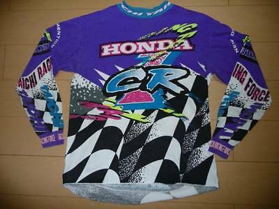 Vintage Rs Taichi Honda Cr 1992-94 Original Japan Motocross Jersey Jmb