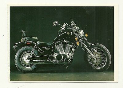 Suzuki Intruder Motor Cycle - a larger format, photographic postcard