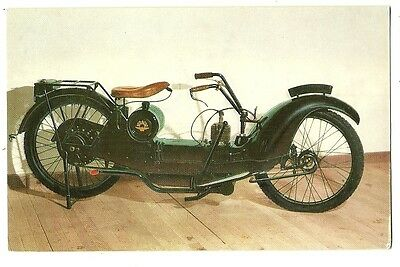 Motorcycles - a photographic postcard of a 1924 NER-A-CAR Motor Cycle