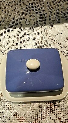 Vintage Villeroy & Boch Butter Dish With Lid