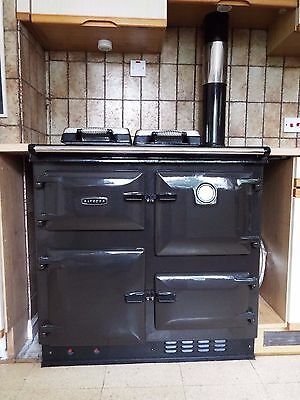 Rayburn twin burner cooker/central heating