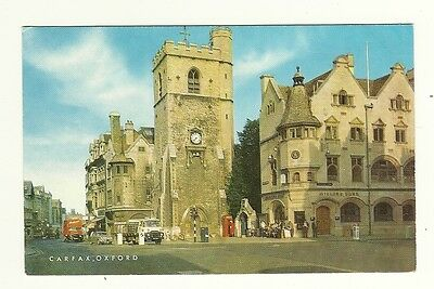Oxford - a photographic postcard of Carfax