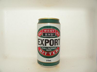 West End Export Bitter Chill Filtered Empty Beer Can