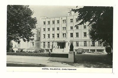 Cheltenham - a photographic postcard of the Hotel Majestic