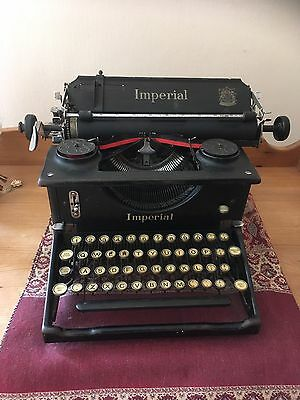 Imperial Typewriter Early 1940s