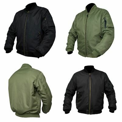 ARMR Moto Aramid Classic Bomber Motorcycle Scooter Jacket Waterproof CE Armour