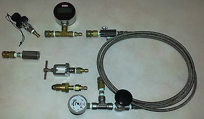 Oxygen Transfill SCUBA Tank Whips For Nitrox/Trimix/Helium/Haskel, etc.