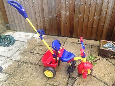 little tikes trike with parent handle