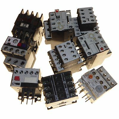 Joblot of various contactors with adjustable overload relay Telemecanique Bam