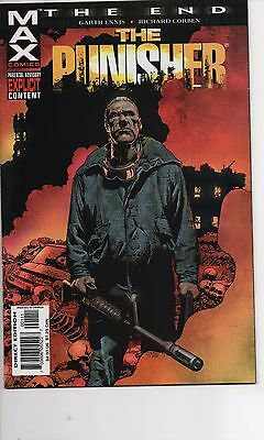 Punisher The End #1 Nm 2004 Last Punisher Story! Garth Ennis Richard Corbon