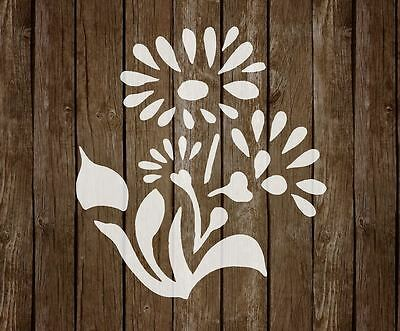 FLOWER Stencil MYLAR Airbrush ART CRAFT Home DECOR A5/A4/A3 125/190 micron (12)