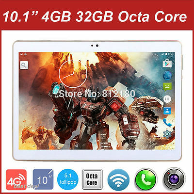 Tablet PC Octa Core 4 GB RAM 32 GB ROM Dual Tarjetas SIM Android 5.1 GPS 3G 4G