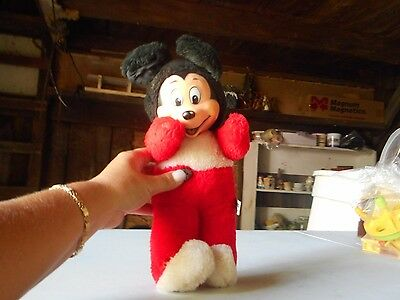 Vintage Stuffed Mickey Mouse Doll