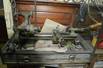 Lorch LAN Vintage Watchmakers Precision Lathe 10mm