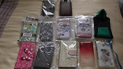 Bundle Of 12 Various Size Nokia Mobile Phone Cases All Brand New