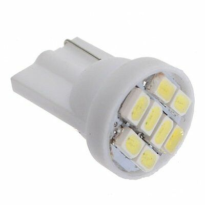 10x T10 W5W 8 SMD LED Weiss Standlicht Lampe Innenraumbeleuchtung Birne 12V R0S4