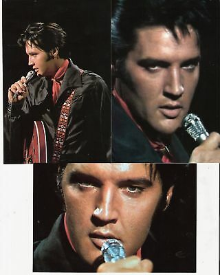 Elvis Presley 10 Photo COLOR Set-1968 TV Special from Production Numbers