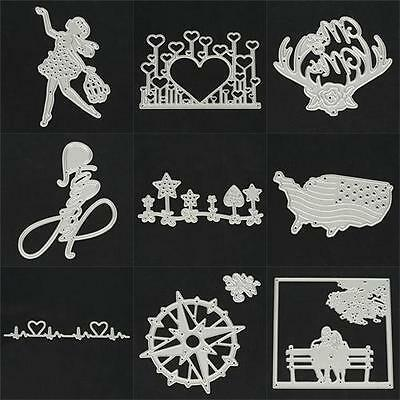 Ship Metal Cutting Dies Stencil Scrapbook Paper Cards Crafts Embossing Deco DIY