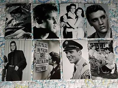 Elvis Presley Ultra-Rare Early Days Candid Photo Lot of 19-NEW!