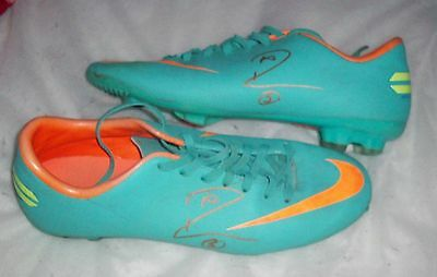 Rio Ferdinand signed Nike football boots