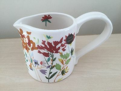 M&S Meadow Hand Painted Milk / Cream Jug - New!