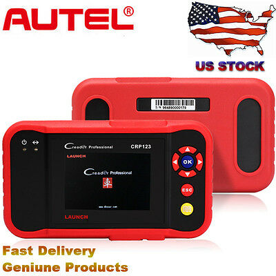 LAUNCH X431 CRP123 Diagnostic Tool OBD2 Auto Scanner Engine Transmission ABS SRS