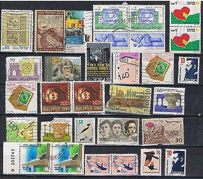 Israel 1949 on selection 29 stamps some duplication Used
