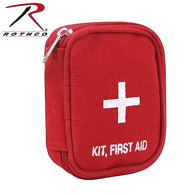 Rothco Military Zipper First Aid Kit, Red