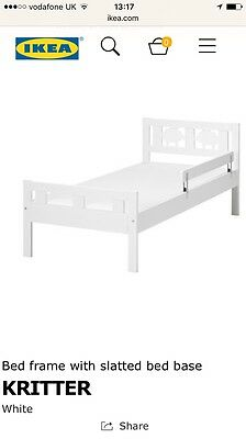 IKEA White Children Toddler Kritter Bed