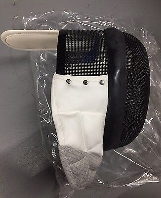Foil Fencing Mask: 350N Protection With Conductive Bib: XS