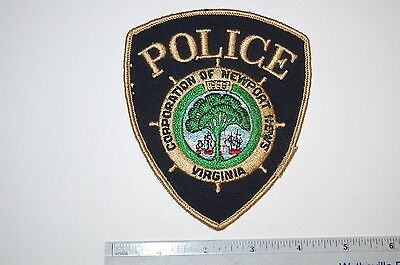 Old Newport News Virginia Police Patch