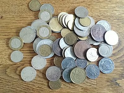 Collection Job Lot Old France Coins